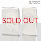 【y】ZIPPOペア#200 #1600 ロマンティクハートペア RHPR-SSP 銀サテーナ ミラーコンビ スワロ付 【】