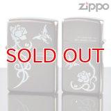 【y】ZIPPOペア#200 #200 トゥルーロマンス TW-Bni B-Ni ホワイトプリント 【】