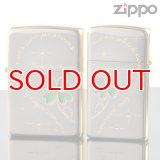 【y】ZIPPOペア#200 #200 クローバーペアセット2 CP2-NAP エッチング Ni 金ミラーコンビメッキ 【】