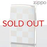 【y】 ZIPPO#200 両面加工 20-che-lb チェック柄 21-CHE ライトブルー (10020033) 【】
