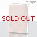 【y】 ZIPPO#200 両面加工 20-che-rd チェック柄 22-CHE レッド (10020034) 【】