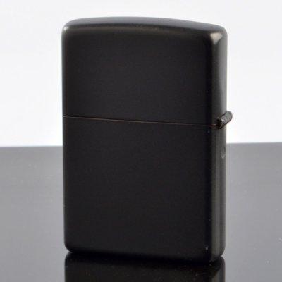 画像3: 【y】 ZIPPO#200 マットラッカーシリーズ ブラックマット ln-bm (10020051) 【】