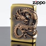 【y】 ZIPPO#200 龍サイドメタル 真鍮古美 ds-bs (10020055) 【】