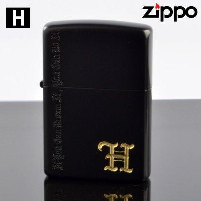 画像1: 【y】 ZIPPO#200 ネーム オブ ラブ nlh-ib イオンブラックマット H (10020062) 【】