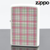【y】 ZIPPO#200 CHECK&CHECK フルカラープリント ラッカーホワイトマット ch-wh (10020081) 【】