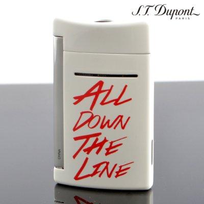 画像2: デュポン ライター [Dupont] 10091 ミニ・ジェット(X・tend mini) Minijet ローリング・ストーンズ ホワイト デュポン ターボライター 【】