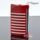 デュポン 10107 ミニ・ジェット(X・tend mini) Minijet ボーダーコレクション レッドラッカー ホワイトストライプ デュポンライター (Dupont) ターボライター 【】