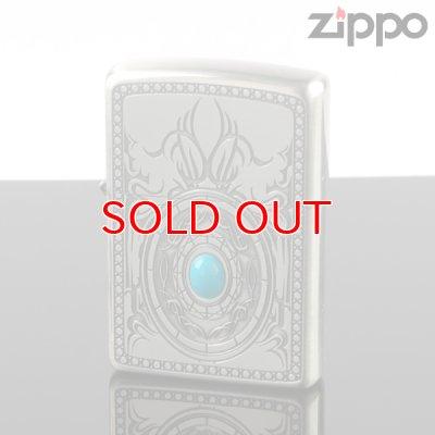 画像1: 【f】ZIPPO 1201s346 トライバルストーン ターコイズA ジッポー ライター 【】