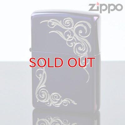 画像1: 【f】Zippo ジッポライター 1201s362 アラベスクIPチタンPP 【】