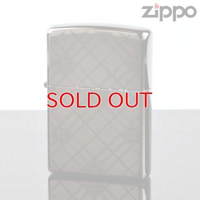 画像1: 【f】Zippo ジッポライター 1201s367 ベーシックチェックBK 【】
