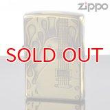 【f】Zippo ジッポライター 1201s388 ZPファイヤーギターBS 両面エッチング【】