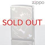 【f】Zippo ジッポライター 1201s392 ブラックニッケル キャットハートホログラムBK【】