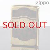 【f】Zippo ジッポライター 1201s427 GD メッキ BW ラッカー仕上げ エッチング GD ユニット 【】