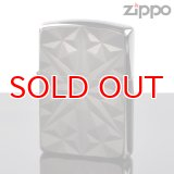 【f】Zippo ジッポライター 1201s433 アーマーダイヤモンド ARMOR BK 両面彫刻 ブラックニッケルBK加工 【】