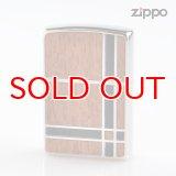 Zippo ジッポライター 1201s600 両面加工 ダブルウッド 2BGBK