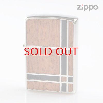 画像1: Zippo ジッポライター 1201s600 両面加工 ダブルウッド 2BGBK