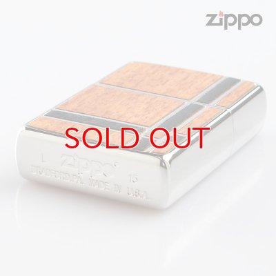 画像3: Zippo ジッポライター 1201s600 両面加工 ダブルウッド 2BGBK