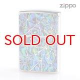 Zippo ジッポライター 1201s635 シェルクリスタル両面加工 1617 GR 2016Limited Edition