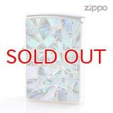 Zippo ジッポライター 1201s637 シェルクリスタル両面加工 1617 BLGR 2016Limited Edition