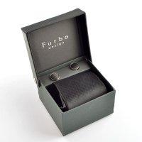 Furbo design (フルボデザイン) 147300 ネクタイ チーフ カフス3点セット s-10t ギフトBOXセット 【】