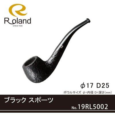 画像1: Roland ローランドパイプ 19rl5002 ブラック スポーツ フカシロパイプ【】