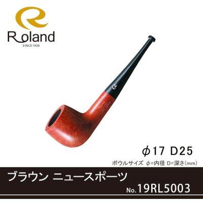 画像1: Roland ローランドパイプ 19rl5003 ブラウン スポーツ フカシロパイプ【】