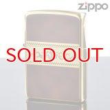 【m】Zippo ジッポライター 200yb-bw2 Classic Style ゴールド×ブラウン 200YB-BW2 【】