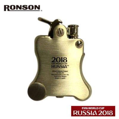 画像2: ロンソン オイルライター バンジョー [RONSON] 2018wcr-1bb ロシアワールドカップ2018 トロフィーメタル