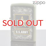 【y】 ZIPPO#200 US Army logo camouflage background アメリカ陸軍ロゴ USAオリジナルZIPPO (28631zp) 【】