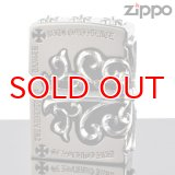 【m】 ZIPPO 2FMJ-SIDECRSS フルメタルジャケット セブン  イージス 銀イブシ (2fmj-sidecrss2) ジッポー ライター 【】