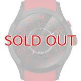 ROMAGO DESIGN[ロマゴデザイン] RM015-0162PL-BKRD Attraction series ミラー文字盤 クォーツ 腕時計 ブランド ファッション 腕時計
