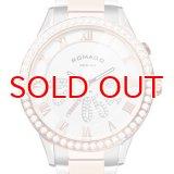 ROMAGO DESIGN[ロマゴデザイン] RM019-0214SS-RGWH Luxury series ミラー文字盤 クォーツ 腕時計 ブランド ファッション 腕時計