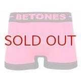 BETONES ビトーンズ 4582339716129 m002-7 SKID M002-7 PINK フリーサイズ ボクサーパンツ