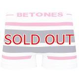 BETONES ビトーンズ 4582339718888 b001-23 AKER B001-23 PINK/NAVY フリーサイズ ボクサーパンツ