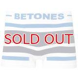 BETONES ビトーンズ 4582339718901 b001-25 AKER B001-25 BLUE/GRAY フリーサイズ ボクサーパンツ