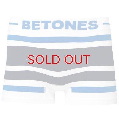 画像1: BETONES ビトーンズ 4582339718901 b001-25 AKER B001-25 BLUE/GRAY フリーサイズ ボクサーパンツ