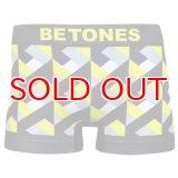 BETONES ビトーンズ 4582339719007 fe006-02 FESTIVAL6 FE006-02 YELLOW フリーサイズ ボクサーパンツ