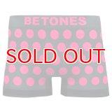 BETONES ビトーンズ 4582339719397 ta005-02 BUBBLE5 TA005-02 PINK フリーサイズ ボクサーパンツ
