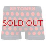 BETONES ビトーンズ 4582339719410 ta005-04 BUBBLE5 TA005-04 RED フリーサイズ ボクサーパンツ