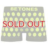BETONES ビトーンズ 4582339719427 ta005-05 BUBBLE5 TA005-05 YELLOW フリーサイズ ボクサーパンツ