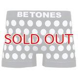 BETONES ビトーンズ 4582339719434 ta005-06 BUBBLE5 TA005-06 WHITE フリーサイズ ボクサーパンツ