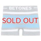 BETONES ビトーンズ 4582339720782 BREATH BR001-13 WH/BL 【】