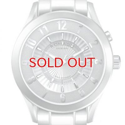 画像1: ROMAGO DESIGN[ロマゴデザイン] RM028-0287AL-SV Superleger RM028 series ミラー文字盤 クォーツ 腕時計 ブランド ファッション 腕時計