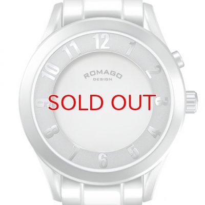 画像2: ROMAGO DESIGN[ロマゴデザイン] RM028-0287AL-SV Superleger RM028 series ミラー文字盤 クォーツ 腕時計 ブランド ファッション 腕時計