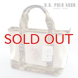US POLO ASSN 629800 USPA-1862 white Beige Camouflage2 コットン トートバッグ