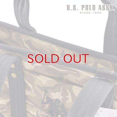 画像2: US POLO ASSN 629805 USPA-1862 Camouflage Black2 コットン トートバッグ
