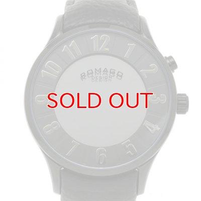 画像2: ROMAGO DESIGN[ロマゴデザイン] RM068-0053ST-BK Numeration series ミラー文字盤 クォーツ 腕時計 ブランド ファッション 腕時計