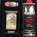 ZIPPO Bドラゴン arb-bd125 フリントオイルセット