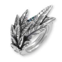 カナリアリング - 青鳥 wブルーダイヤモンド Archive Collection BloodyMary [ブラッディマリー] bmr0712-bld