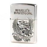 【y】zippo HARLEY ビックメタル HDP-08 ジッポー ハーレー シリーズ 【】